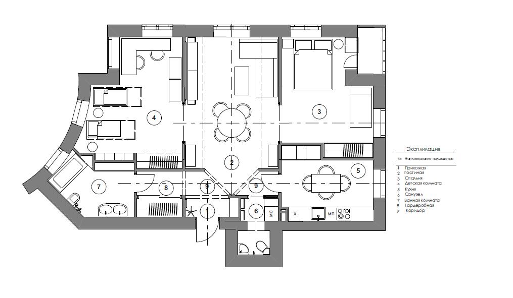 планировка 3